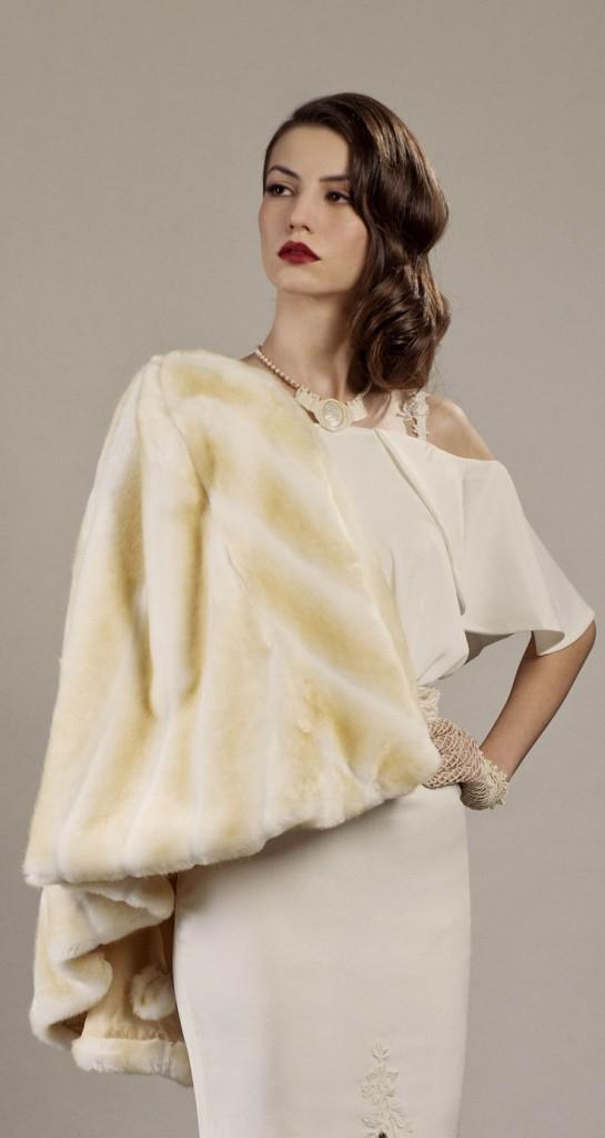 Vintage Bridal Fur
