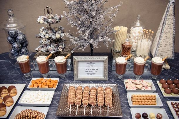 Wedding Hot Chocolate Station