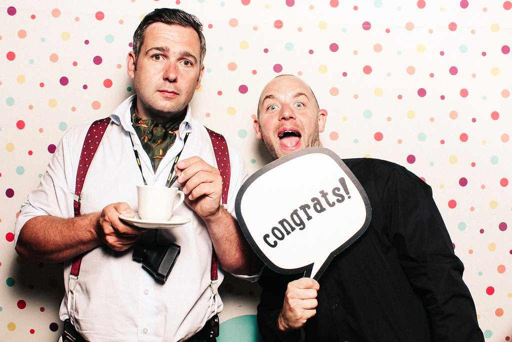 Marianne and Jack - Nonsuch Manor - Congrats Photo Booth
