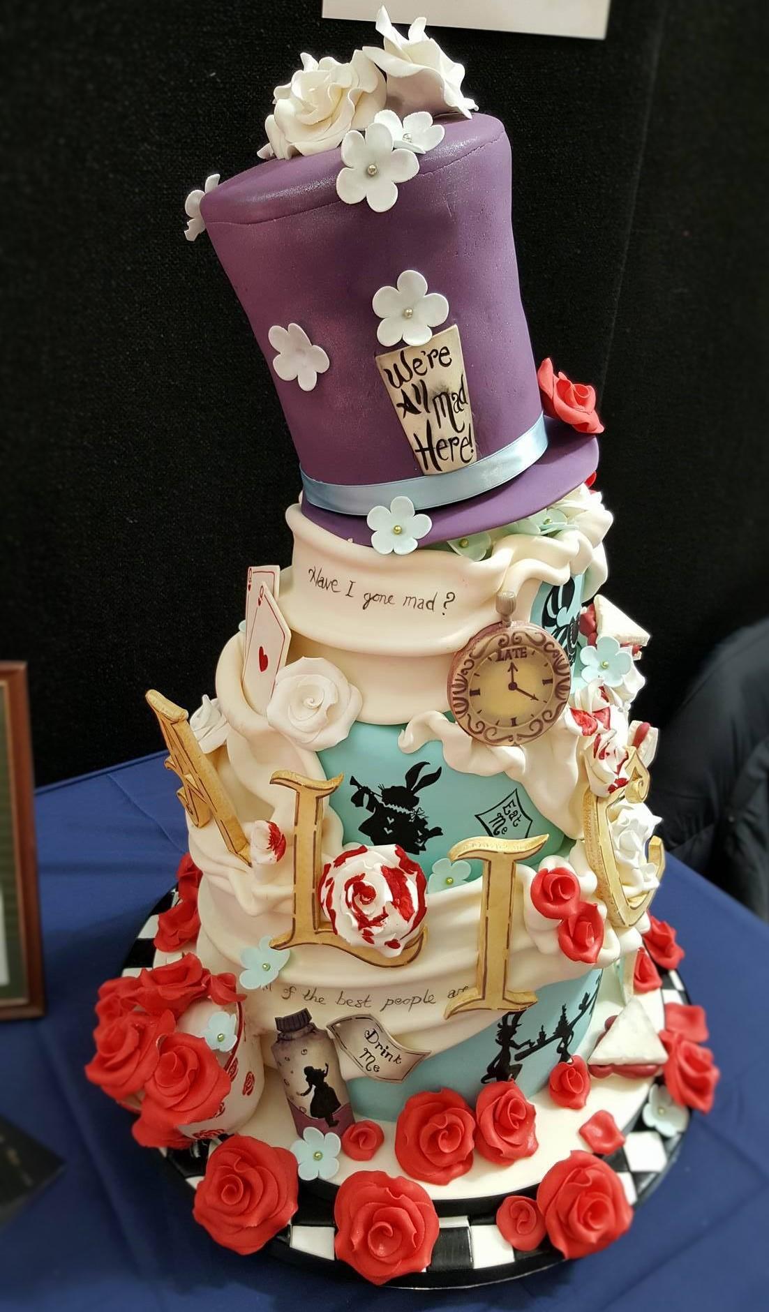 Wedding Cake Inspiration - Alice