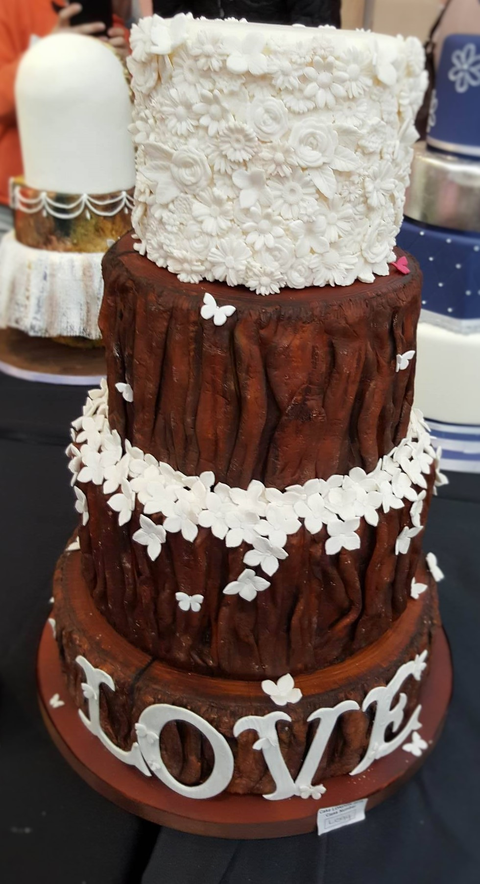 Wedding Cake Inspiration - Bark