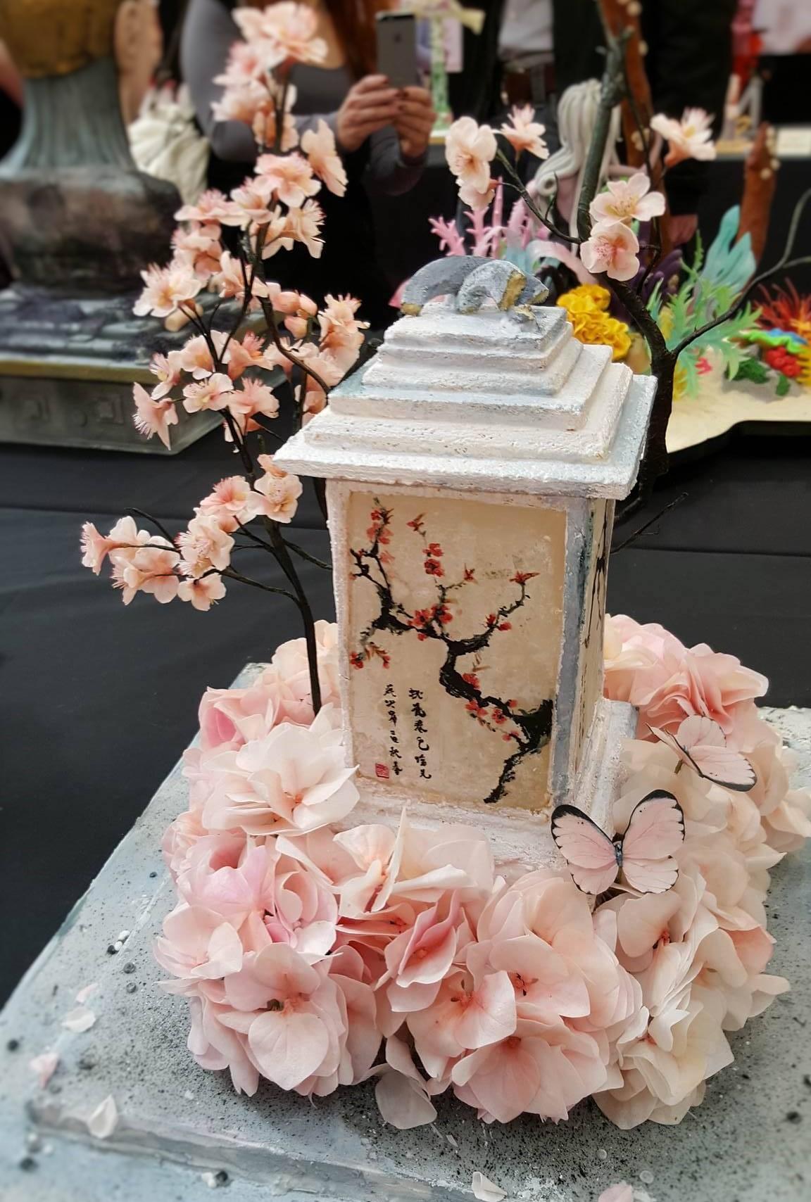 Wedding Cake Inspiration - Cherry Blossom
