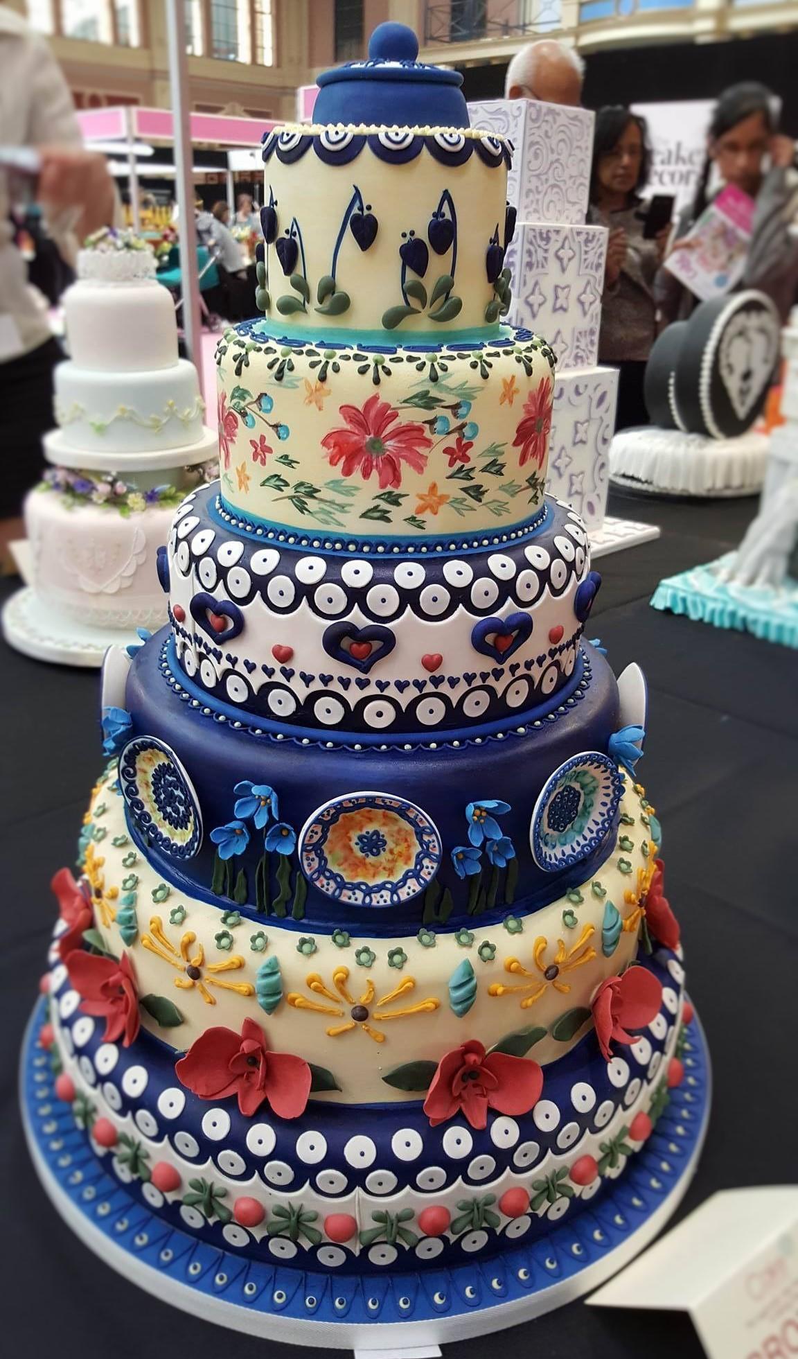 Wedding Cake Inspiration - Delft