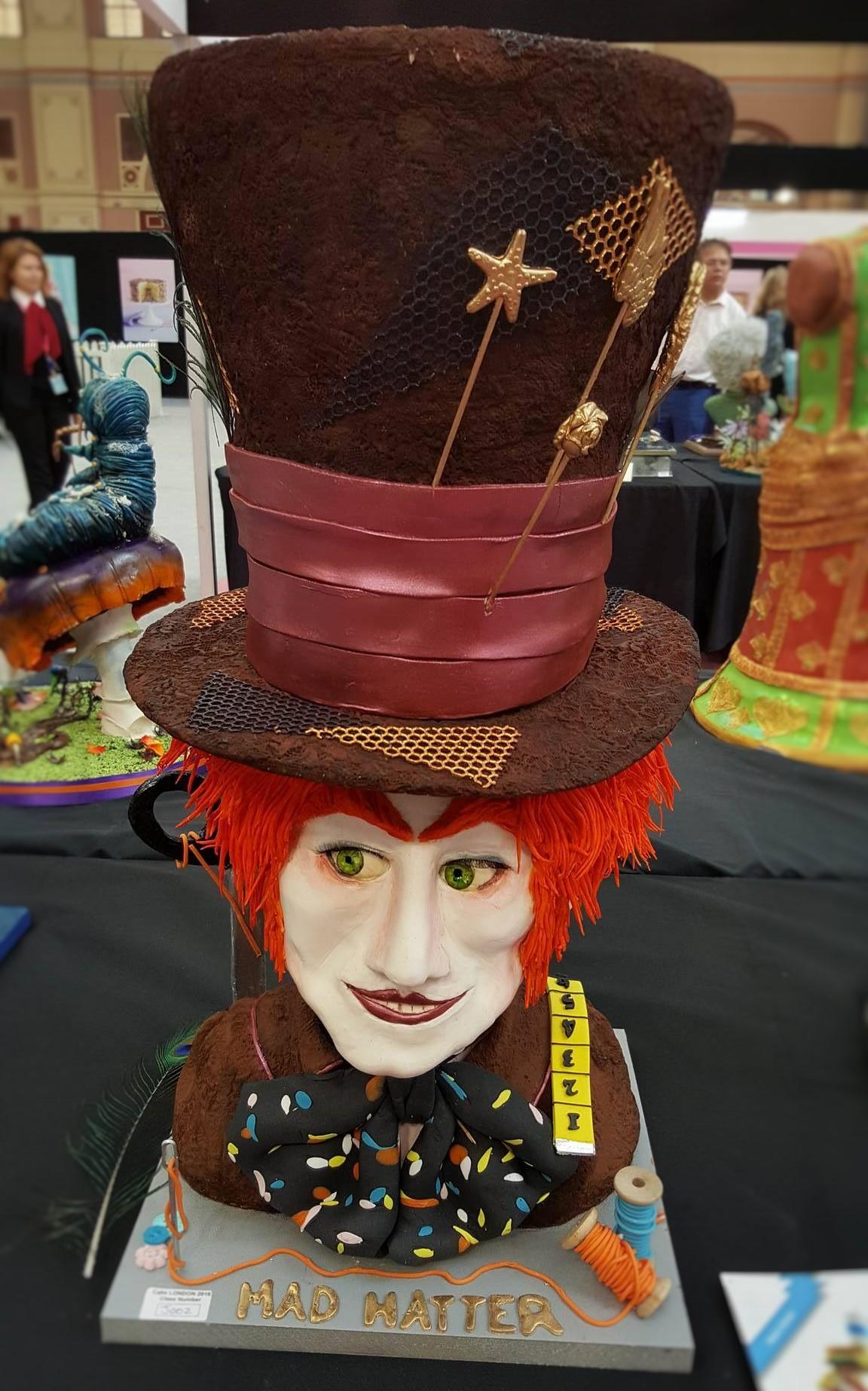 Wedding Cake Inspiration - Mad Hatter