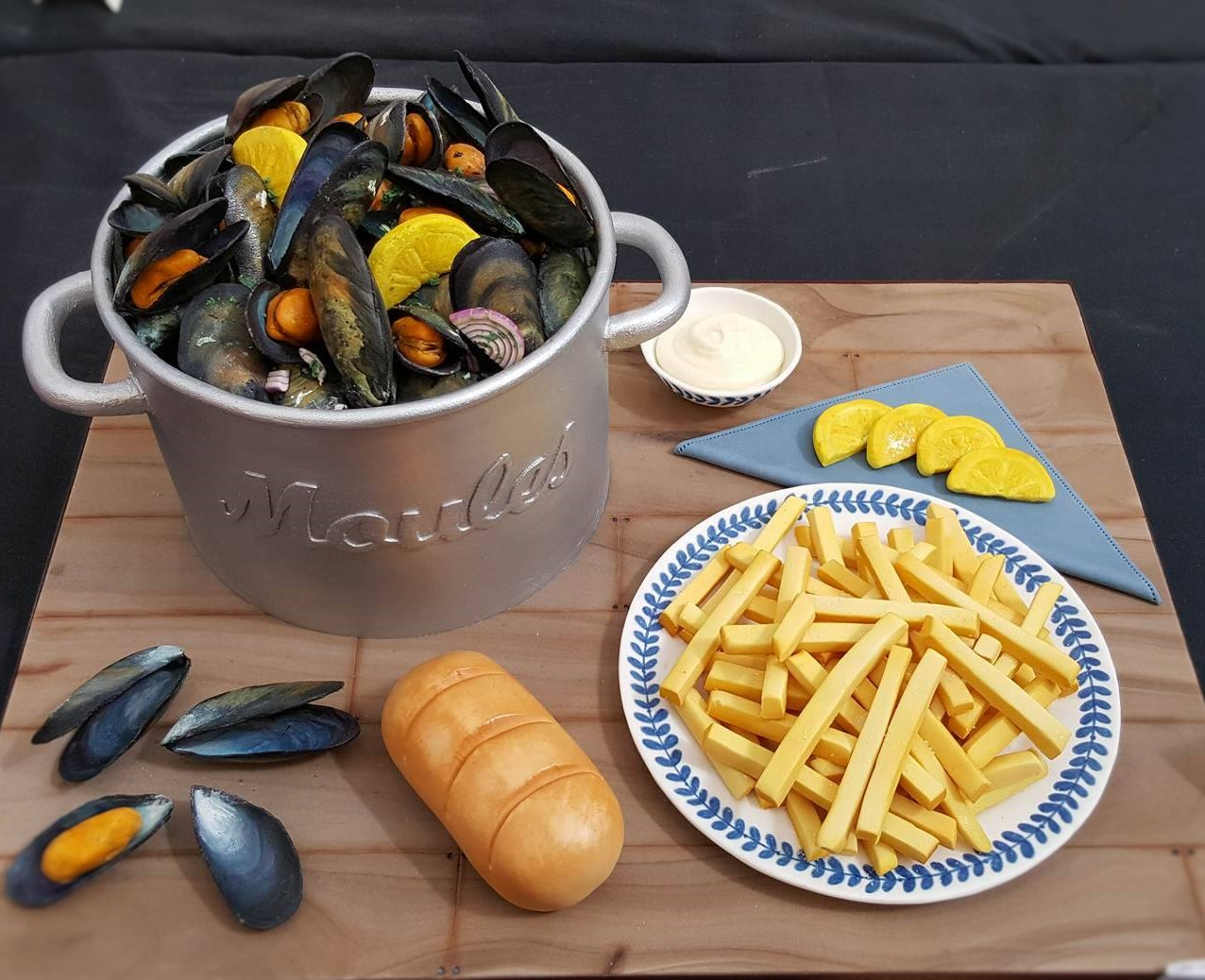 Wedding Cake Inspiration - Moules Frites