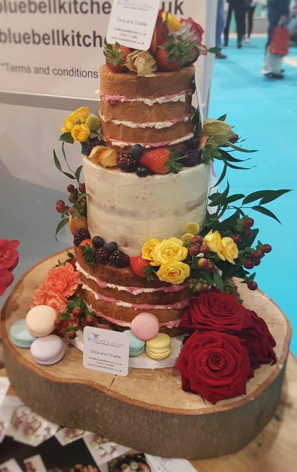 Wedding Cake Inspiration - Naked