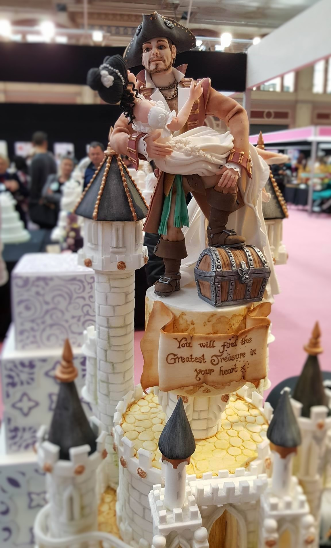 Wedding Cake Inspiration - Pirates