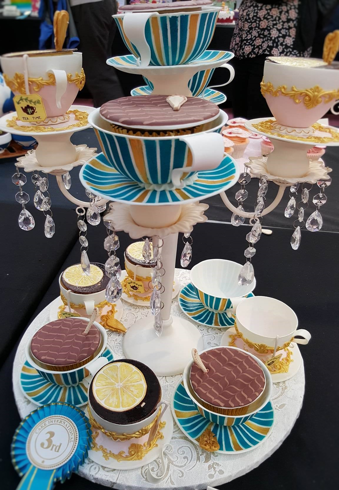 Wedding Cake Inspiration - Tea Cups