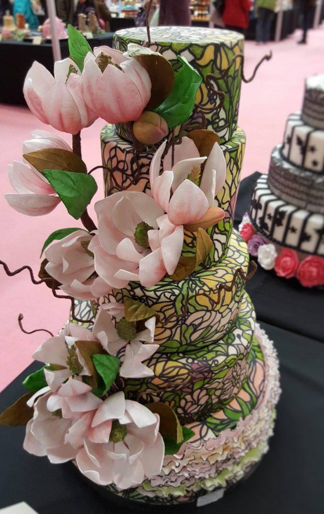 Wedding Cake Inspiration - Tiffany Lamp
