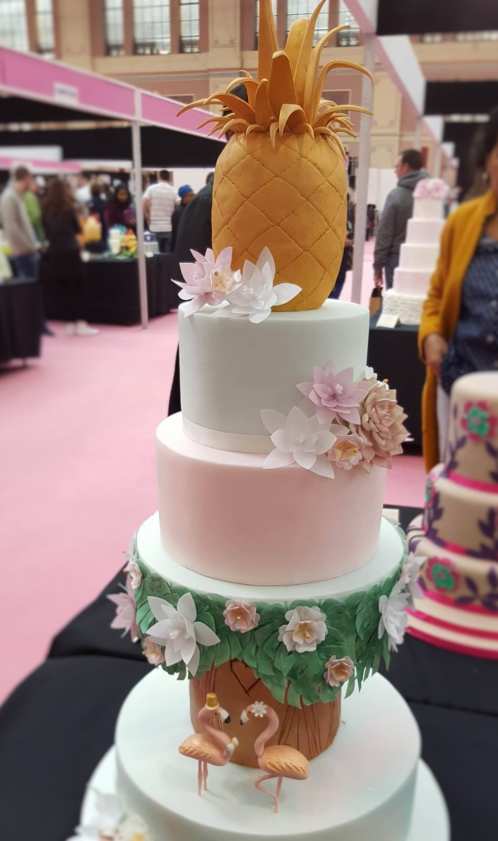 Wedding Cake Inspiration - Tropical