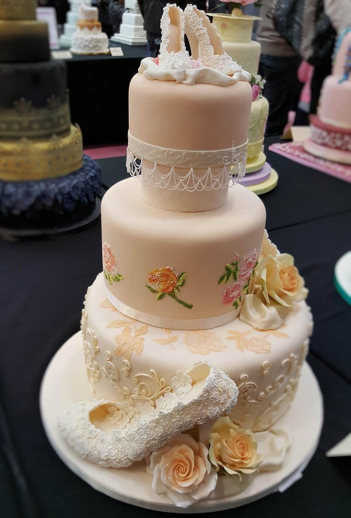 Wedding Cake Inspiration - Wedding Shoes