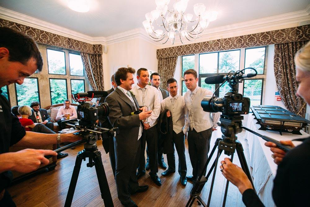 Wedding Videographer - Groomsmen