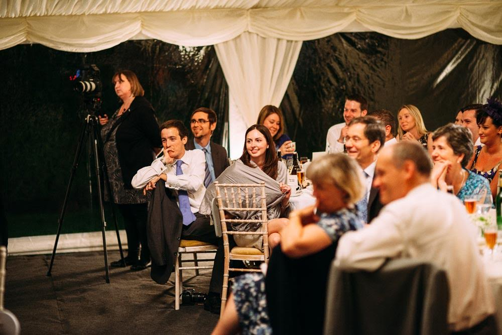 Wedding Videographer - Speeches