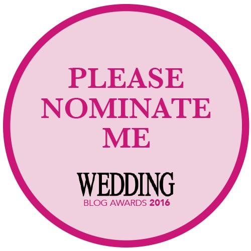 Nominate - Wedding Blog Awards 2016